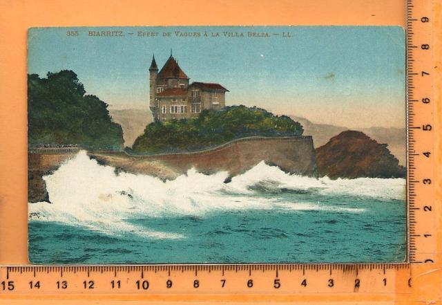 biarritz effet vagues