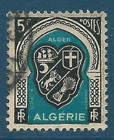 Timbre Algerie Neuf N° 270 ** Armoirie Architecture