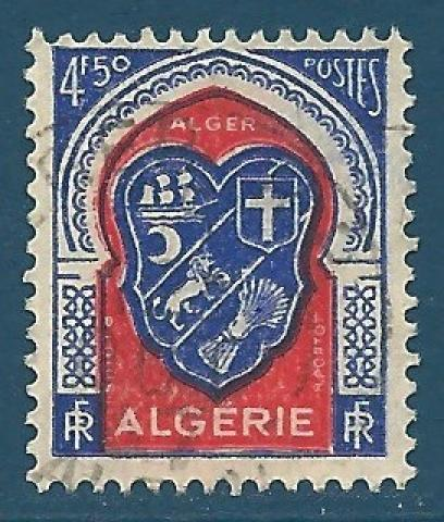 Africa Architecture Timbre Algerie Neuf N° 261 ** Armoirie