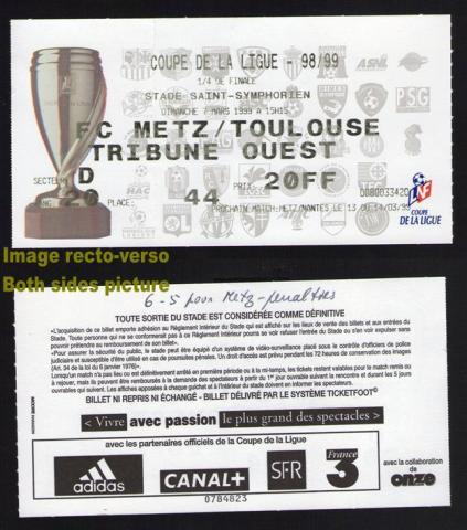 Achat vente aux ench res petites annonces mascoo tickets - Vente billet finale coupe de la ligue ...
