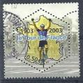 2003 FRANCE 3583 oblitéré, cachet rond, Tour de France