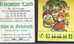 POCHETTE CURE DENTS BRASSERIE LAUTH