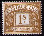 GB Postage Due 1968 SG D74**