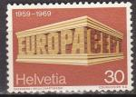 Switzerland Europa 1969 Sc 500 used
