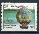 Timbre CAMBODGE KAMPUCHEA  1983 Obl  N° 393 Y&T Ballon