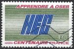 FRANCE - 1981 - Yt n° 2145 - Ob - 100 ans fondation HEC