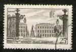 "**   FRANCE     25 F   1947   YT - 778   "" Nancy - Place Stanislas ""  (o)   **"