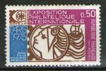 "**  FRANCE   0,50 F  1974  YT-1783   "" Expo Philatéliques Paris ""  (N)  **"