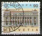 "**   SUISSE    90 ct  1990  YT-1348  "" EUROPA - CEPT ""  (o)   **"