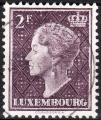 Luxembourg - 1948/53 - Yt n° 421 - Ob - Série courante ; Grande-duchesse Charlot