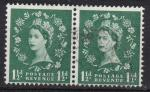 GB 1957 SG 563 Graphite lined issue used pair