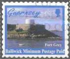 Guernesey 1998 -Série courante: Fort Goret, auto-collant, obl- YT 787 / SG 770 °