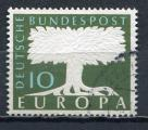 Timbre  ALLEMAGNE RFA  1957   Obl    N°  140    Y&T   Europa