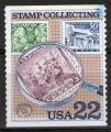 "**   ETATS - UNIS   22 c  1986  YT-1617  "" Collection de timbres ""  (o)   **"